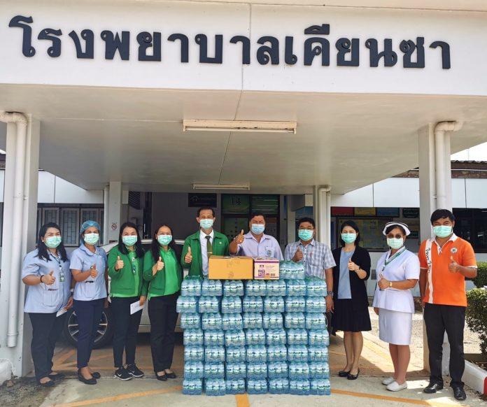 ธ.ก.ส. ทั่วไทย ร่วมใจมอบน้ำดื่มและเครื่องอุปโภคบริโภค เพื่อสาธารณประโยชน์ สู้ภัยโควิด-19