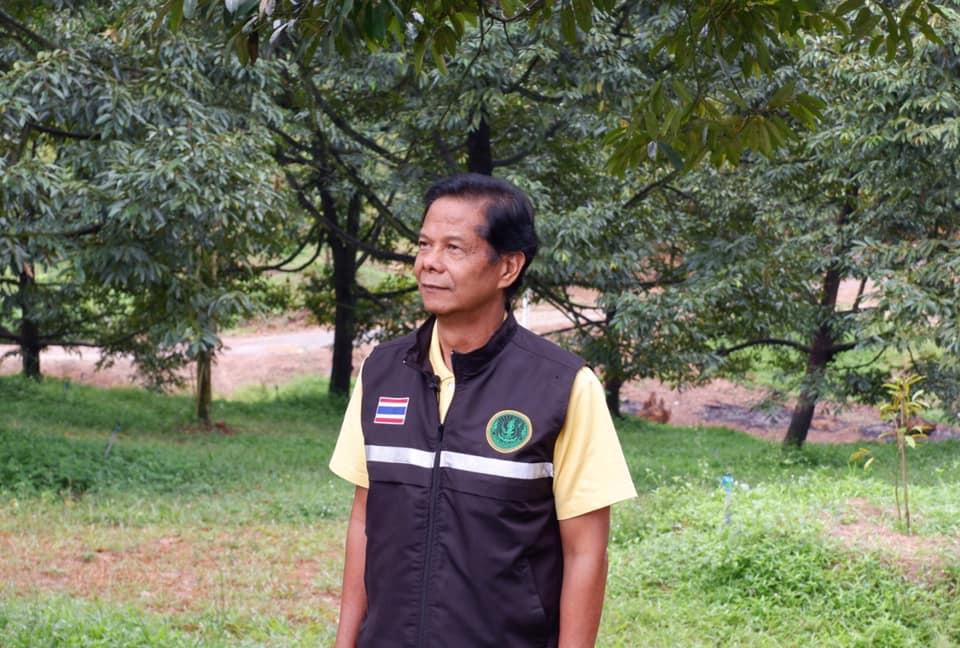 นายปิยะ สมัครพงศ์ ผู้อำนวยการสำนักงานส่งเสริมและพัฒนาการเกษตรที่ 3 จังหวัดระยอง