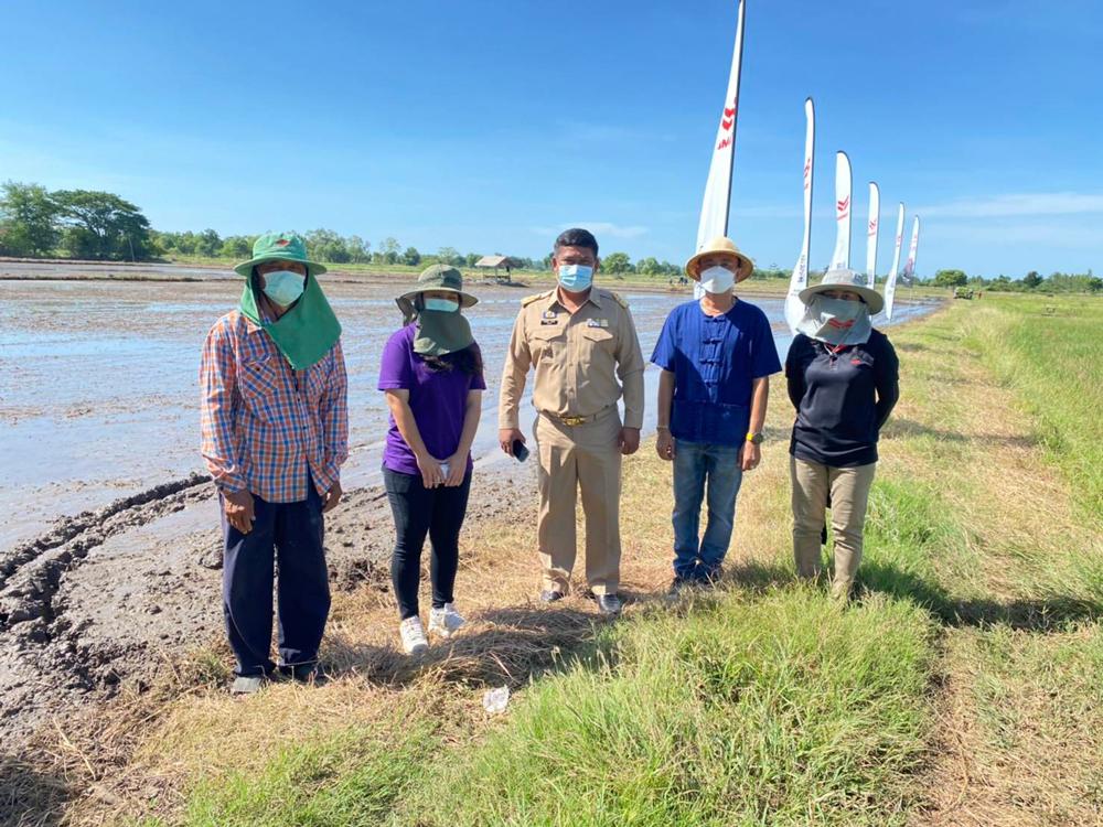 ยันม่าร์ พัฒนาศักยภาพเกษตรกรไทยส่งเสริมปลูกข้าวยั่งยืนด้วยรถดำนา