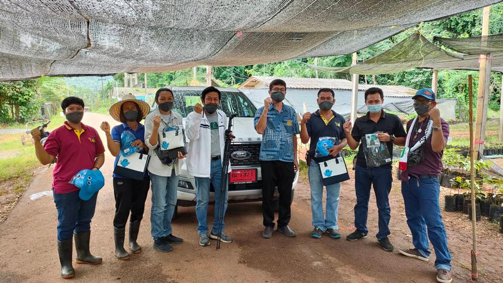 ทีมงานเกษตรก้าวไกลลุยมาถึงศูนย์วิจัยพืชสวนจันทบุรี