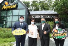 """Café Amazon x NaRaYa ร่วมเติมพลัง ปันสุข กระจายรายได้สู่ชุมชน"""