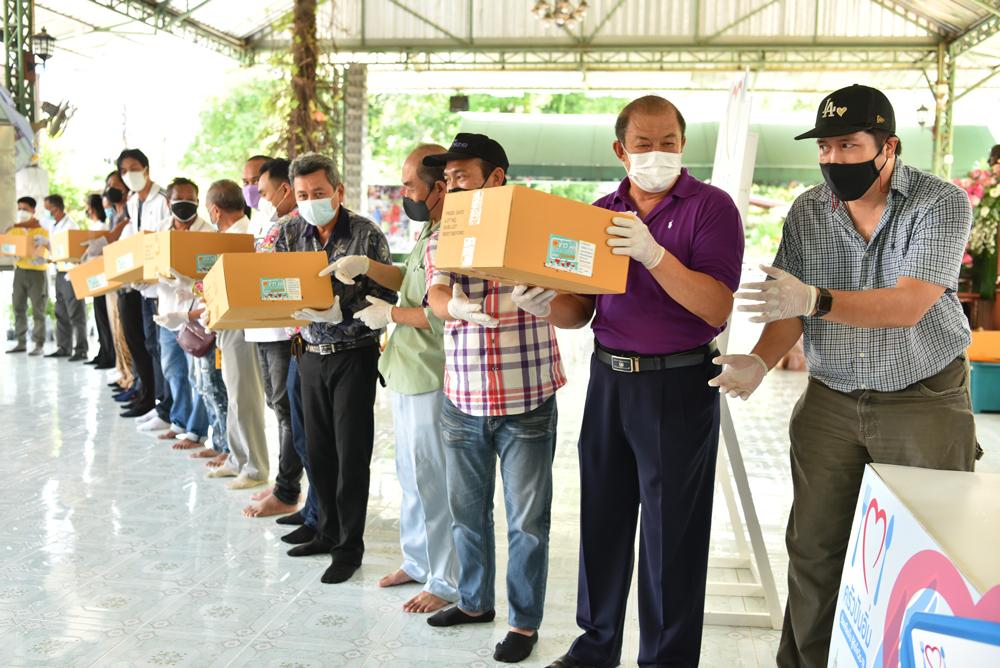 โครงการครัวปันอิ่มเดินทางครบ 2 ล้านกล่องที่วัดพุทธปัญญา